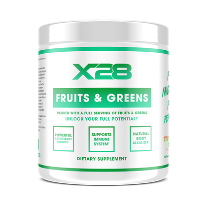 X28 - FRUITS AND GREENS