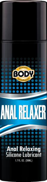 Anal Relaxer Silicone Lube 1.7oz
