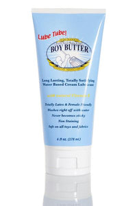 Boy Butter H2O Formula Lubricant 6oz Lube Tube