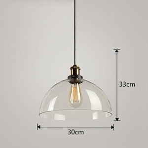 Daytrends Pendant light Clear D / Without bulb Wholesale Vintage Pendant Lights Amber Glass Pendant Lamp E27/E26 Light Bulb Dinning room Kitchen  Home Decor Planetarium Lamp