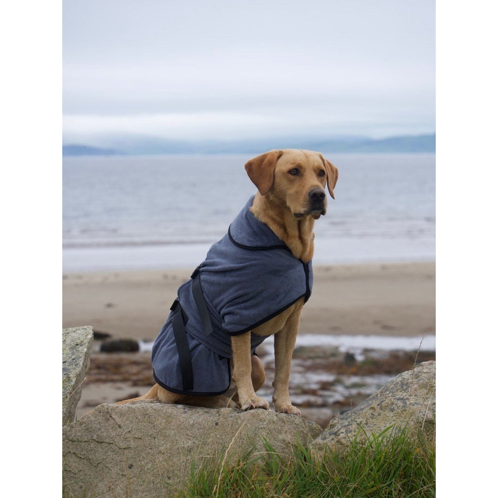 Paws & Presto Rapid Dry Microfibre Dog Dressing Gown