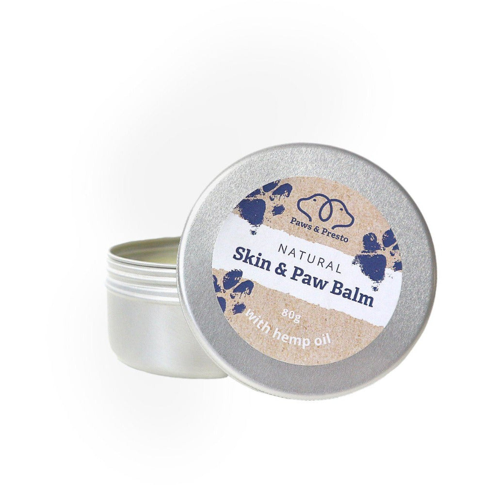 Natural Dog Paw Balm Paws & Presto  80-grams