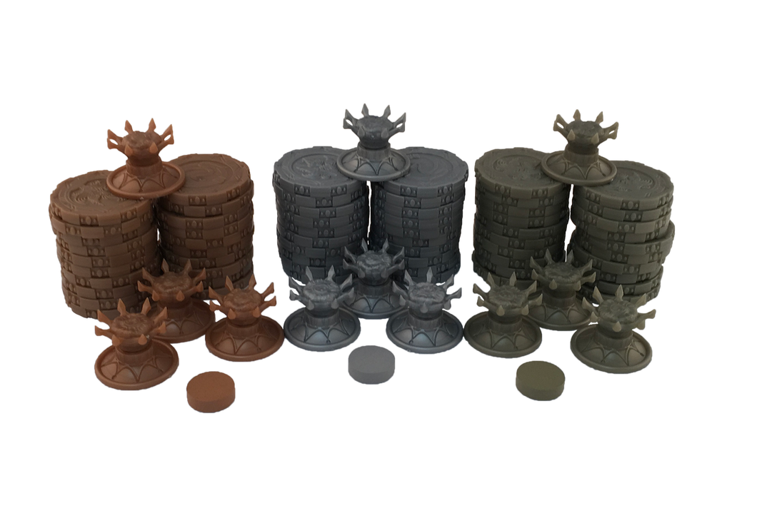 Cursed Court Promotional Token Set