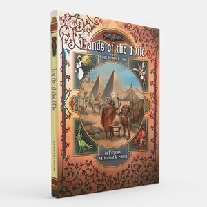 Lands of the Nile: Egypt, Ethiopia & Nubia (Ars Magica 5E) [Restock]