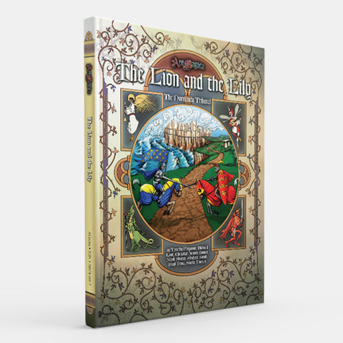 The Lion and the Lily: The Normandy Tribunal (Ars Magica 5E) [Restock]