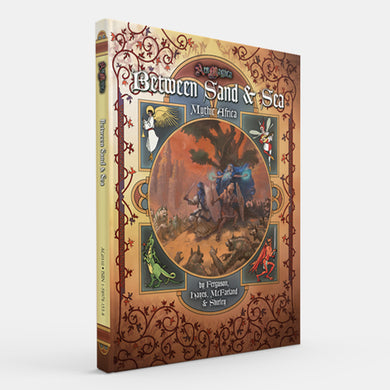 Between Sand & Sea: Mythic Africa (Ars Magica 5E) [Restock]