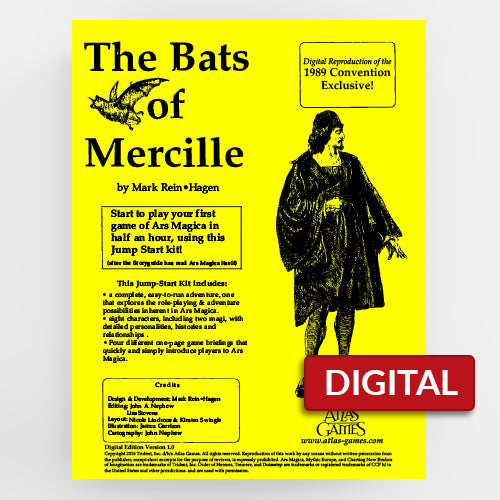 The Bats of Mercille (Ars Magica 2E)