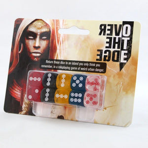 Over the Edge Dice Set (Over the Edge 3E) [Dropship]