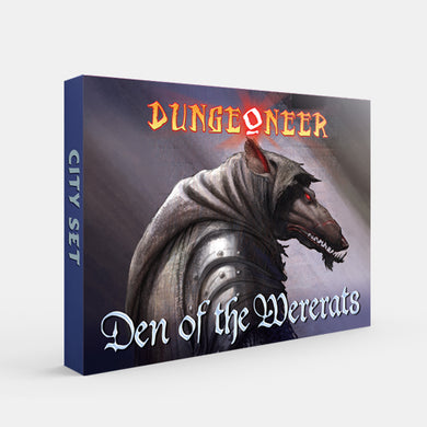Den of the Wererats (Dungeoneer 2E) [Restock]