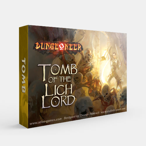 Tomb of the Lich Lord (Dungeoneer 2E) [Dropship]