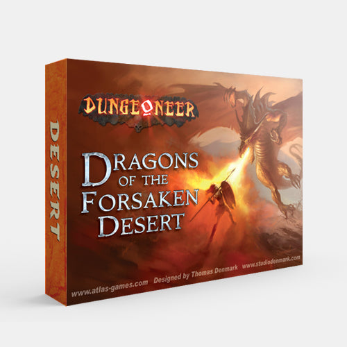 Dragons of the Forsaken Desert (Dungeoneer 2E)