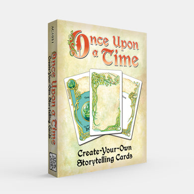 Create-Your-Own Storytelling Cards (Once Upon a Time 3E)