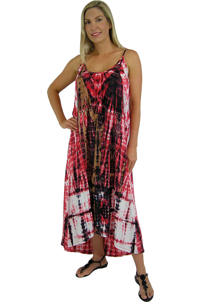 "Boho Dress ""Meteor"" tie dye"