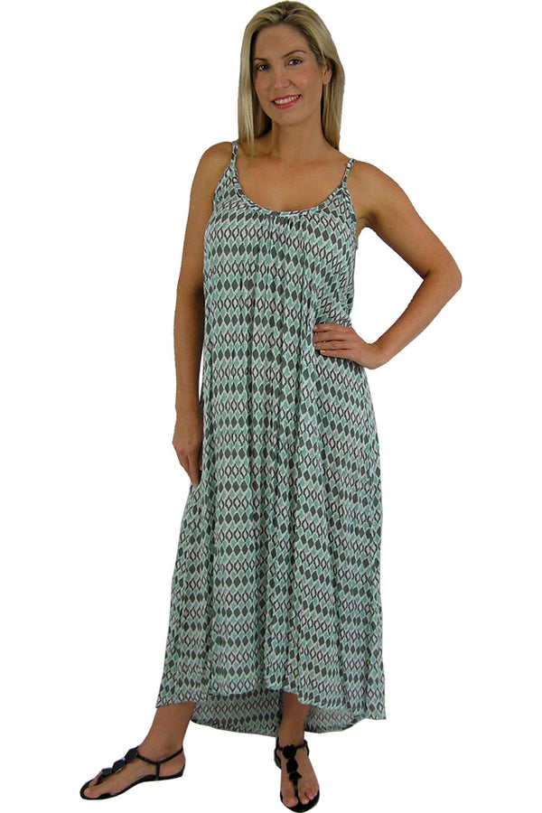 "Boho Dress ""Diamond"" print"