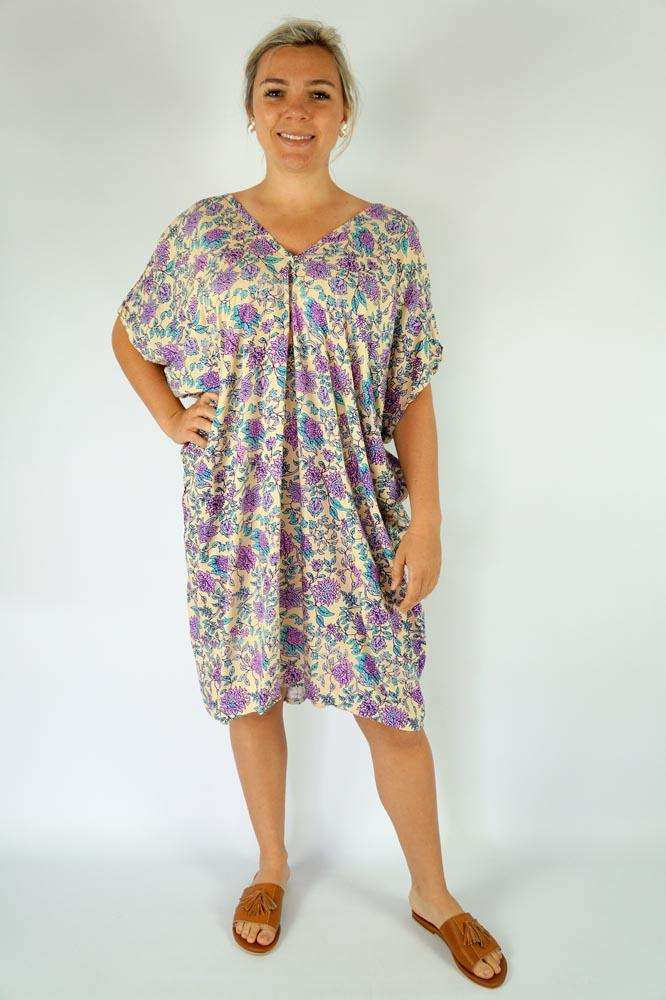 "Drifter Dress "" Eden"" Print"
