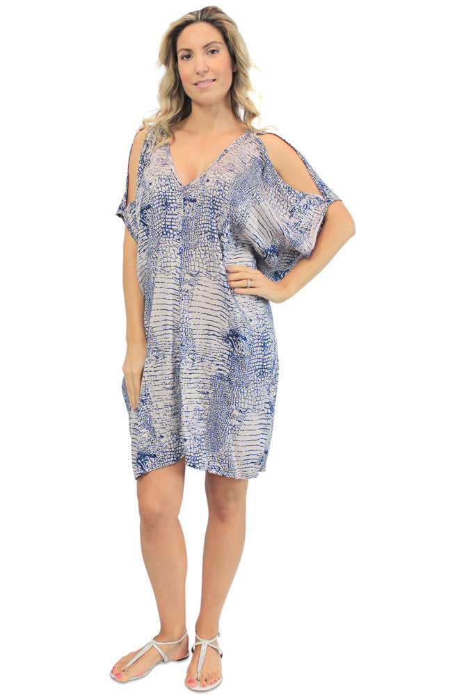 "Drifter Dress "" Komodo"" Print"