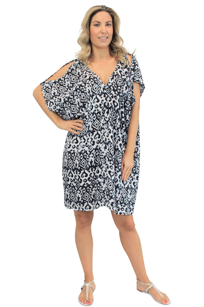 "Drifter Dress "" Interlock"" Print"