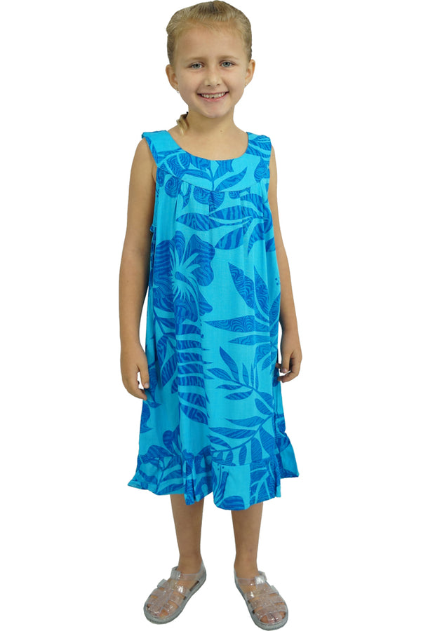 "Girls Tahiti Dress ""Samoa"""