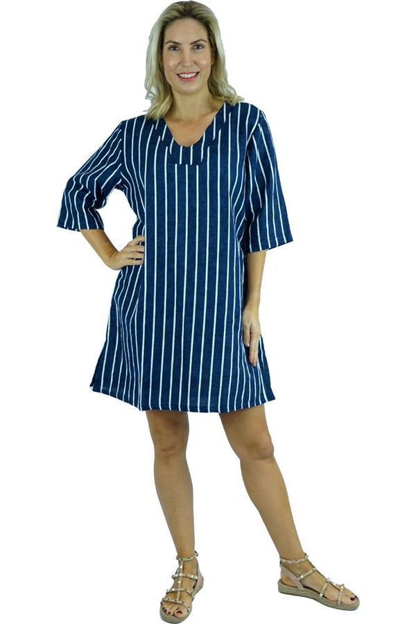 "Hamilton Tunic ""Stripes"""