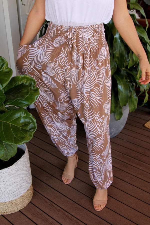 "Harem Pant ""Palm Cove"""