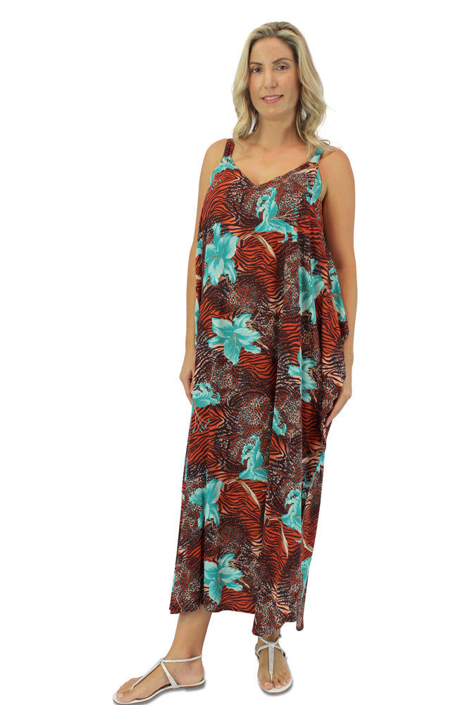 "Harmony Dress ""Flower Animal"" Print"