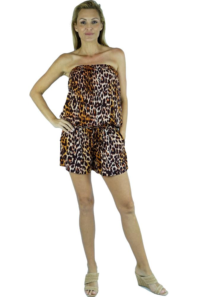 "Short Jumpsuit ""Leopard"""