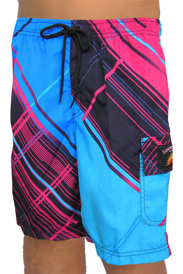 "Boys ""Geomatrix"" shorts"
