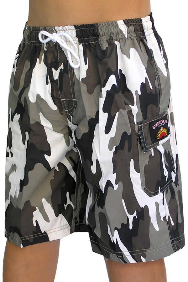 "Boys ""Commando"" shorts"