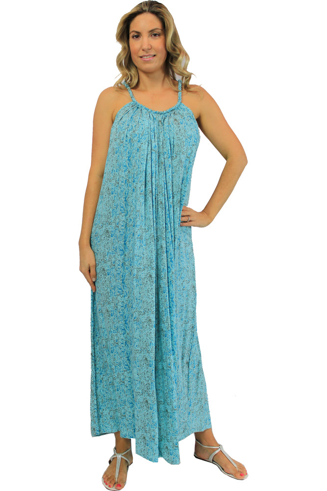 Long Delta Dress Python