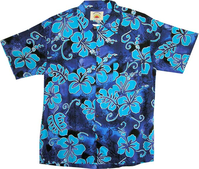 Kids Hibiscus Shirt