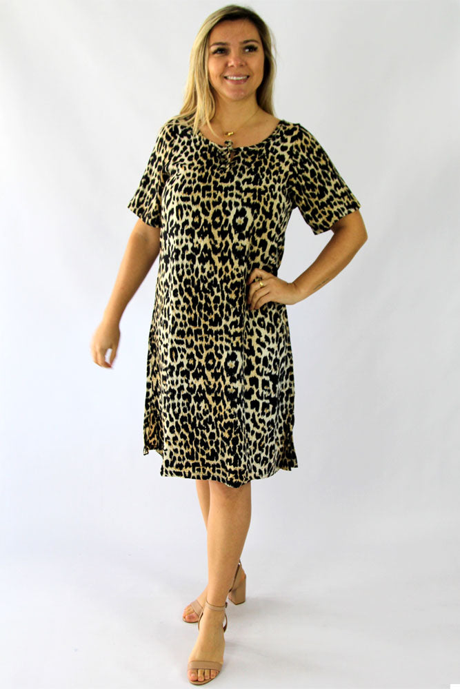 "Molly Dress ""Leopard"""