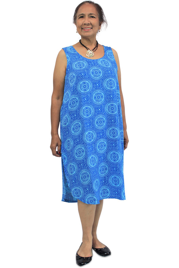 "Nassa Dress ""Circle"" Print"