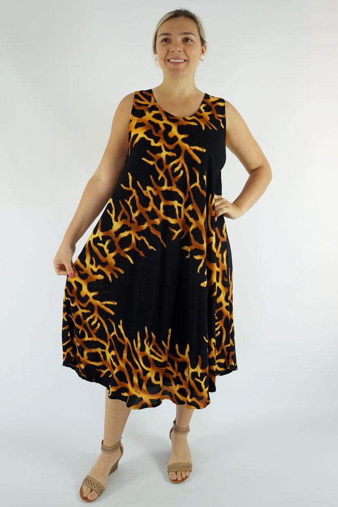 "Niche Dress ""Flame"""