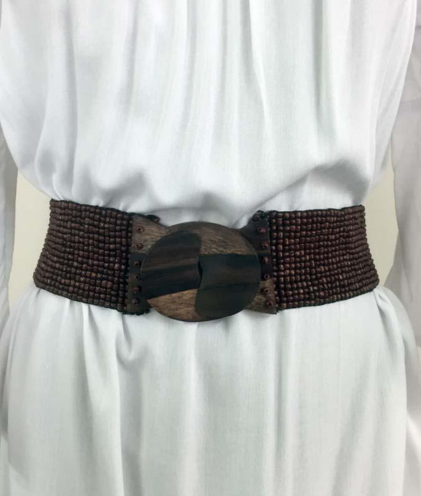BEADED ELASTIC  BELTS