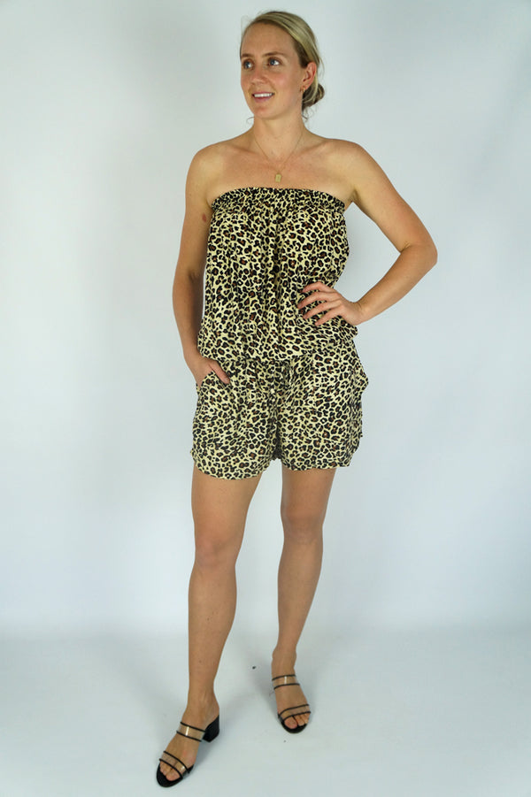 "Short Jumpsuit ""Baby Cheetah"""