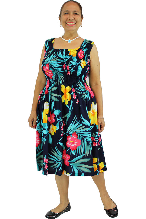 Ala Moana Singlet Smock Dress