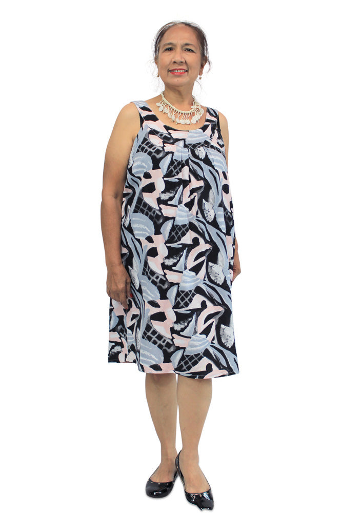 "Tahiti Dress ""Mesh"" print"