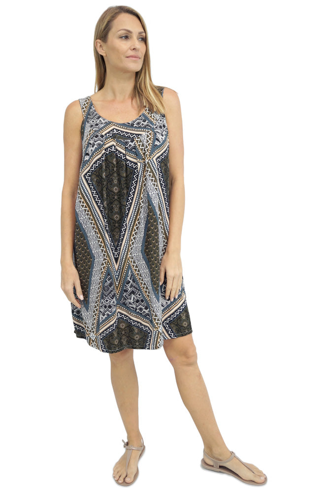 "Tahiti Dress ""Tapestry"""