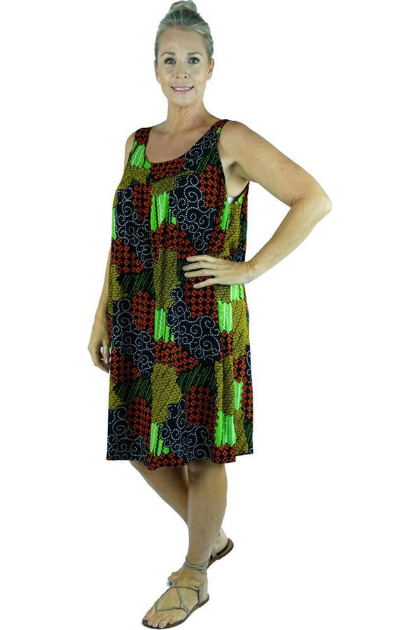 "Tahiti Dress ""Mosaic"""