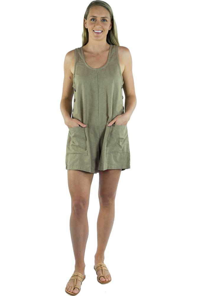 "Tropic Jumpsuit  ""Plain"""
