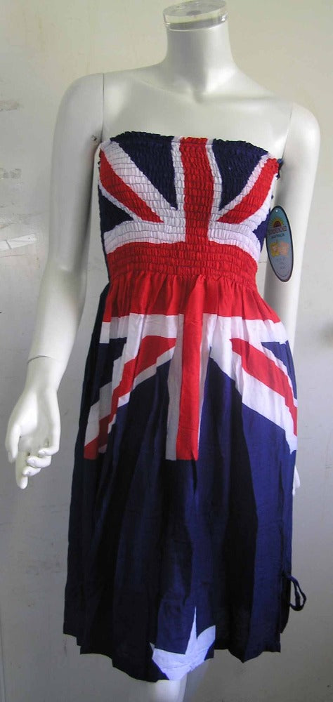"""Aussie Flag"" Smock Dress"