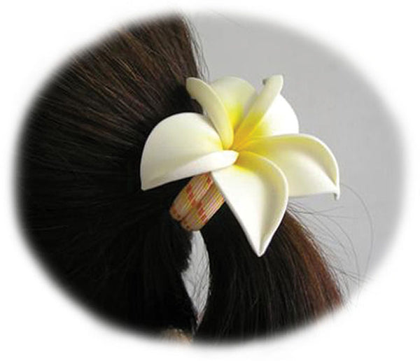 Frangipani Elastic Hair Band