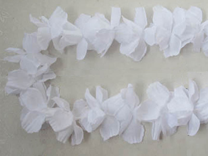 Flower Leis White