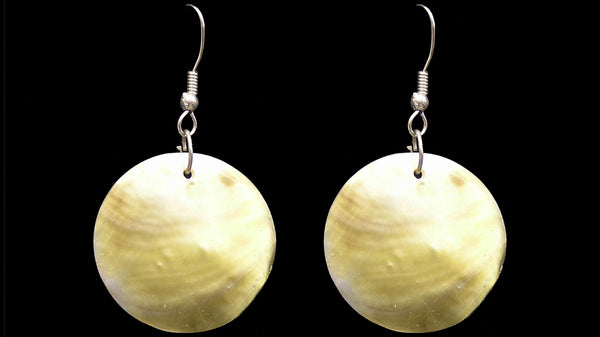 4cm Mother of Pearl Earings