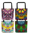 Colorful Mandala Tote Bags