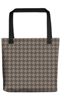 Houndstooth Tote Bags