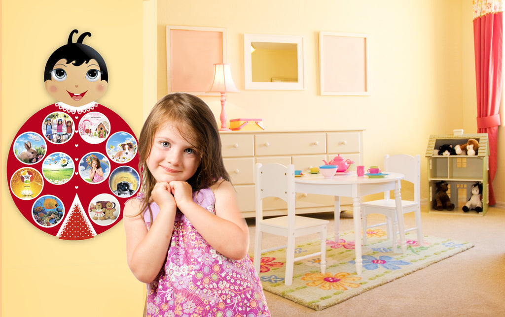 "Kids vision board ""Ladybug"", Dreams come true"