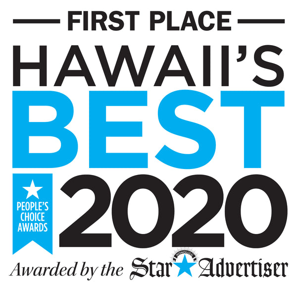 Voted FIRST PLACE as Hawaii's Best Local Bottled Salad Dressing