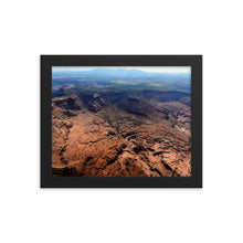 Load image into Gallery viewer, Framed poster - Lockhart Basin