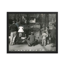Load image into Gallery viewer, Framed poster - Tracy Aviary, 1951